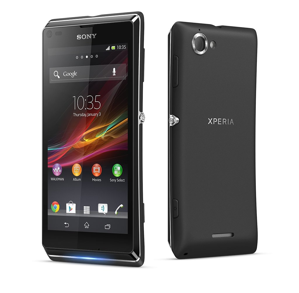 Sony Xperia L SIM-Free Smartphone - Black: Amazon.co.uk: Electronics