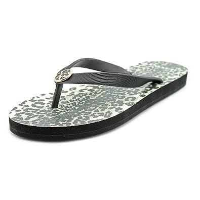 326620d4d546 Coach Alessa Black Rubber Flip Flops Woman Size 5 M