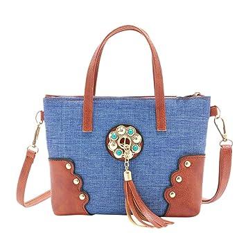 491914fac92f Amazon.com : ❤ Sunbona Retro Shoulder Bags fir Women Fashion ...