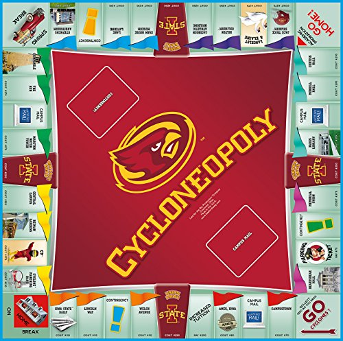 Late for the Sky Iowa State University - Cycloneopoly