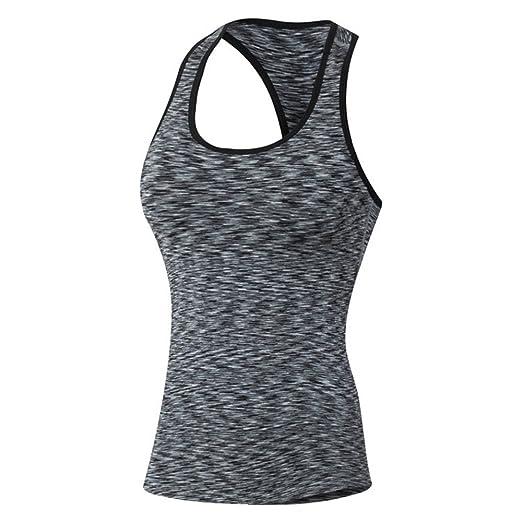 Camiseta deportiva para mujer Yoga al aire libre sin mangas ...