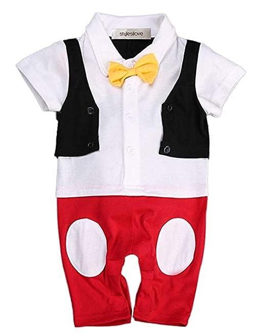 f57e5737775a Disfraz O Traje Caroline DE Mickey Mouse Short para NIÑO: Amazon.com ...