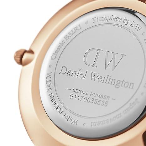 Daniel Wellington Classic Petite Melrose in Rose gold Watch