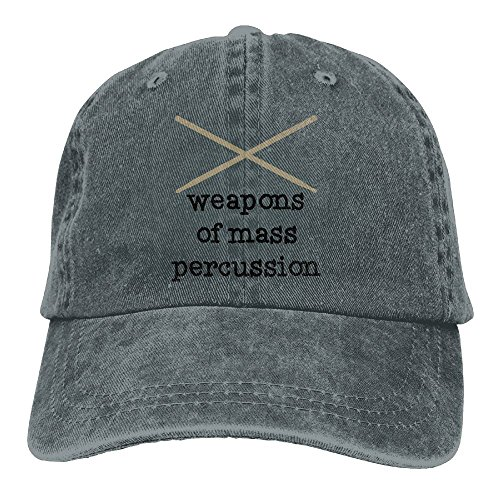 - QQQWZH-A Weapons of Mass Percussion Drum Sticks Baseball Jean Headgear