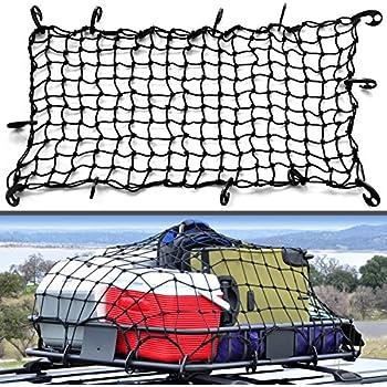 Amazon.com: 3'x5' Bungee Cargo Net Heavy Duty Truck Bed Net ... on