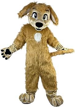 Photo Prop Gift Brown Plush Animal Tail Party Monkey Dog Fox Animal Costume Dress Up Cosplay Cute Children Child Kids Adult Halloween