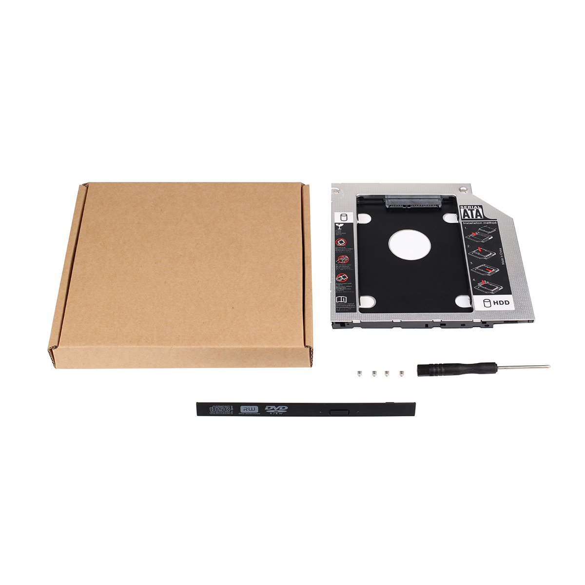 Bandeja para disco duro secundario SSD SATA de 63 mm; apta para ...