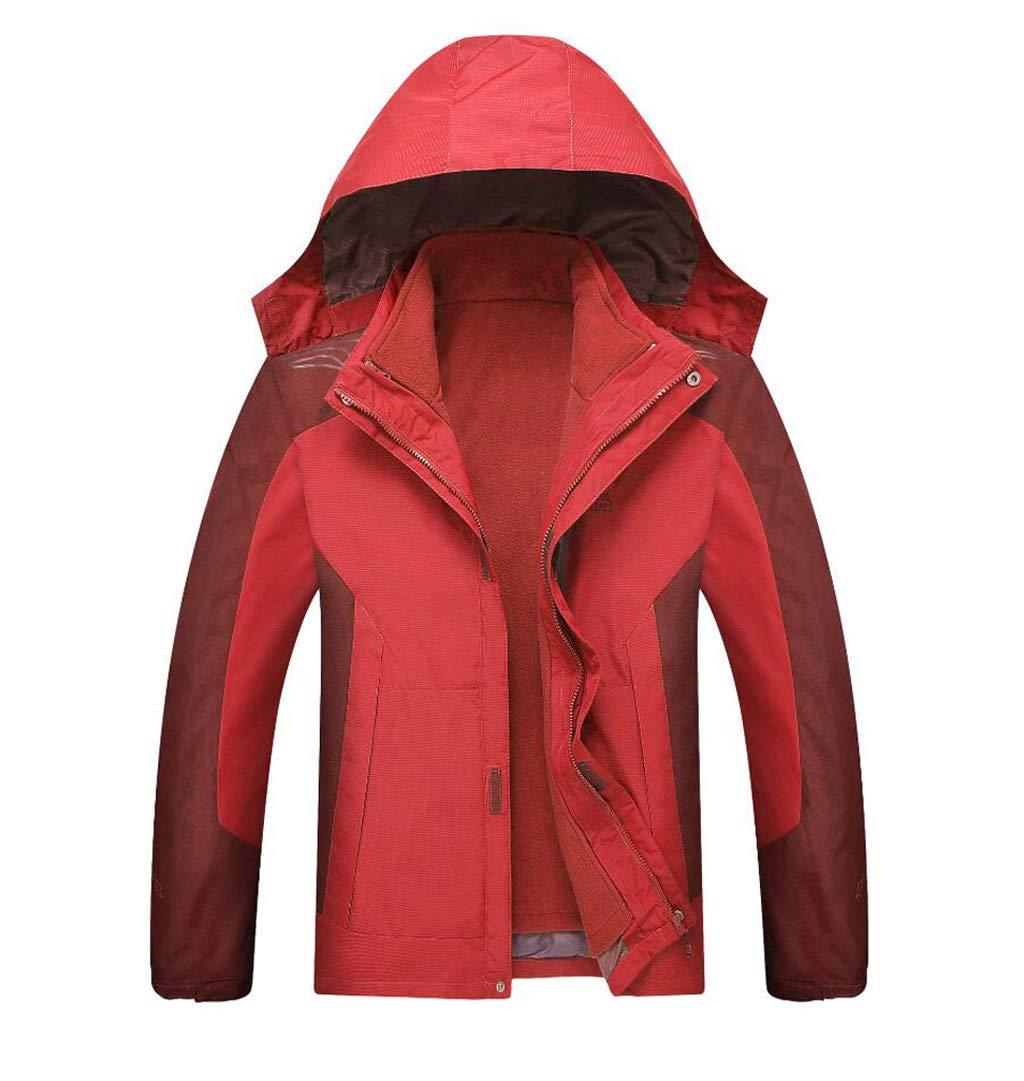 超人気の WY XXXL メンズアウトドアジャケット Red、防水通気性の登山服2着着用のレインコート 屋外 (色 : Red, サイズ さいず XXXL|Red : XL) B07GZCKT2D XXXL|Red Red XXXL, Party Palette:b9340ed0 --- svecha37.ru