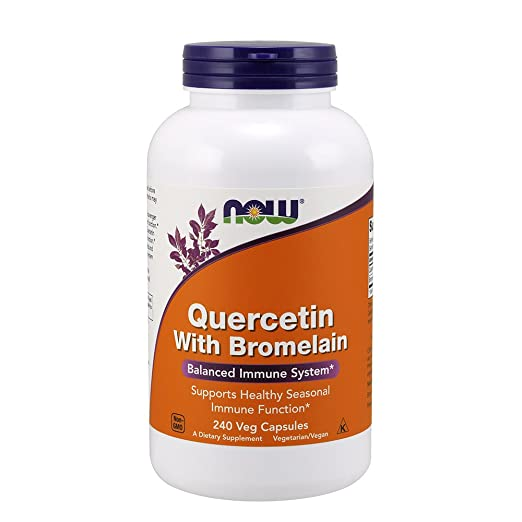 quercetin with bromelain to combat the long term risks of antihistamines