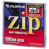 Fujifilm 100MB Zip Disk for Mac 1-Pack (Discontinued by Manufacturer)