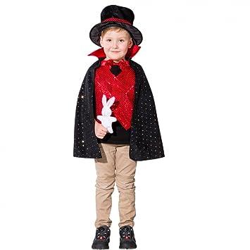 ORLOB Unbekannt Niños (Tallas 116 Disfraz Mago de 140 hokuspokus ...