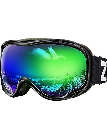 2a6c9de531e0 Zionor Lagopus Ski Snowboard Goggles UV Protection Anti-Fog Snow Goggles  for Men Women Youth