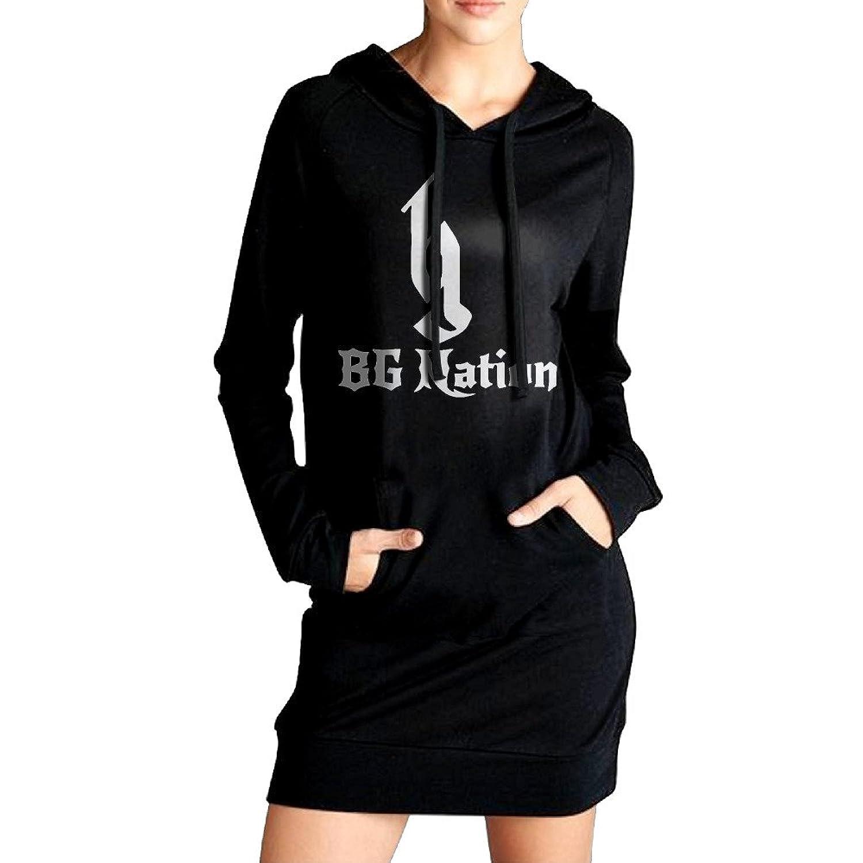 12dbb2f57f9 Hoodie Brantley Gilbert Bg Nation Logo Women s Sweatshirt Dress  well-wreapped