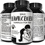 Male Enhancement Pills Natural Enhancer with Herbal Maca Root Powder Tongkat Ali Extract Zinc and L-Arginine Pure Libido Booster for Men Increase Stamina Sex Drive 60 Tablets by Tevare