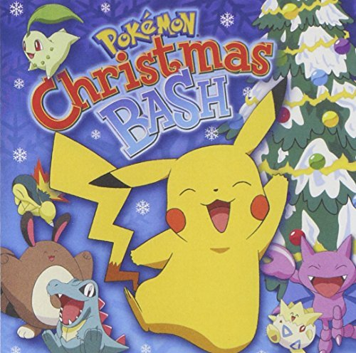 2001 Pokemon - Pokemon: Christmas Bash by Pokemon Christmas Bash (2001) Audio CD