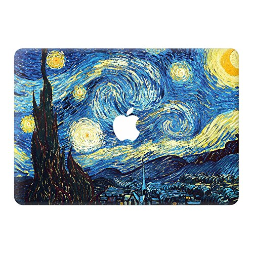 Coco and Toffee | Starry Night Highest-Grade Vinyl Skin Sticker compatible with MacBook Air 13 (A1369/A1466)