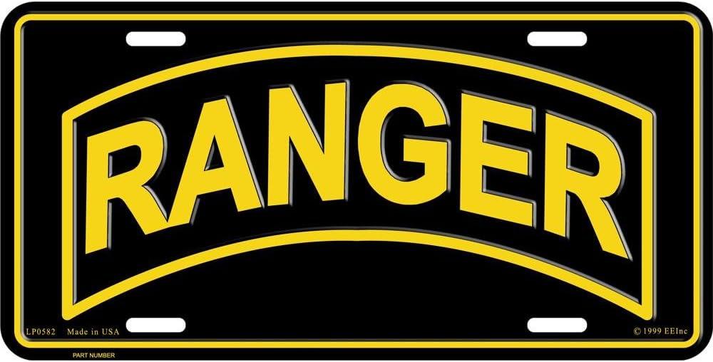 Army Ranger License Plate U.S