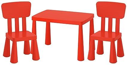 Ikea Mammut Lätt mesa infantil + 2 sillas infantiles niños muebles mesa silla IK15 de czer