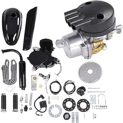 Kit de Motor de bicicleta, 80 cc gasolina gas 2 tiempos bicicleta ...