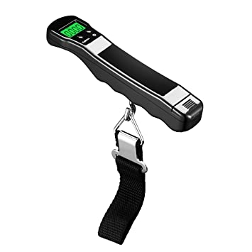 nonzers zumbador equipaje scale- portátil báscula Digital, alta precisión, Báscula para maletas,