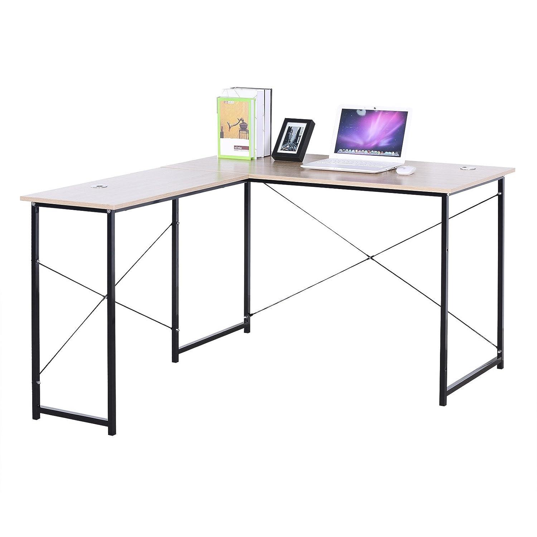 Woltu Tsb06hei Schreibtisch Computertisch Büromöbel Pc Tisch