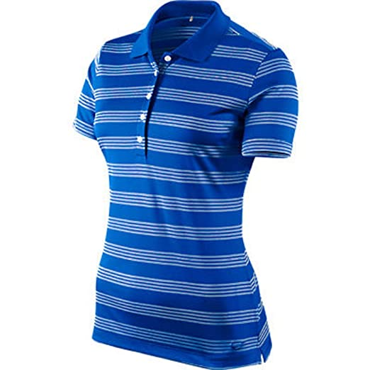 15097b3e Image Unavailable. Image not available for. Color: Nike Golf Women's Tech  Stripe Polo ...