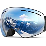 Yukii スキーゴーグル スノーゴーグル 曇り止め メガネ対応 偏光 球面レンズ スノーボード 登山 通気 耐衝撃 防風 防雪 防塵 男女兼用