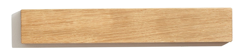 Magnetic Wooden Knife Holder Set handmade by Indian artisans - perfect for modern kitchen