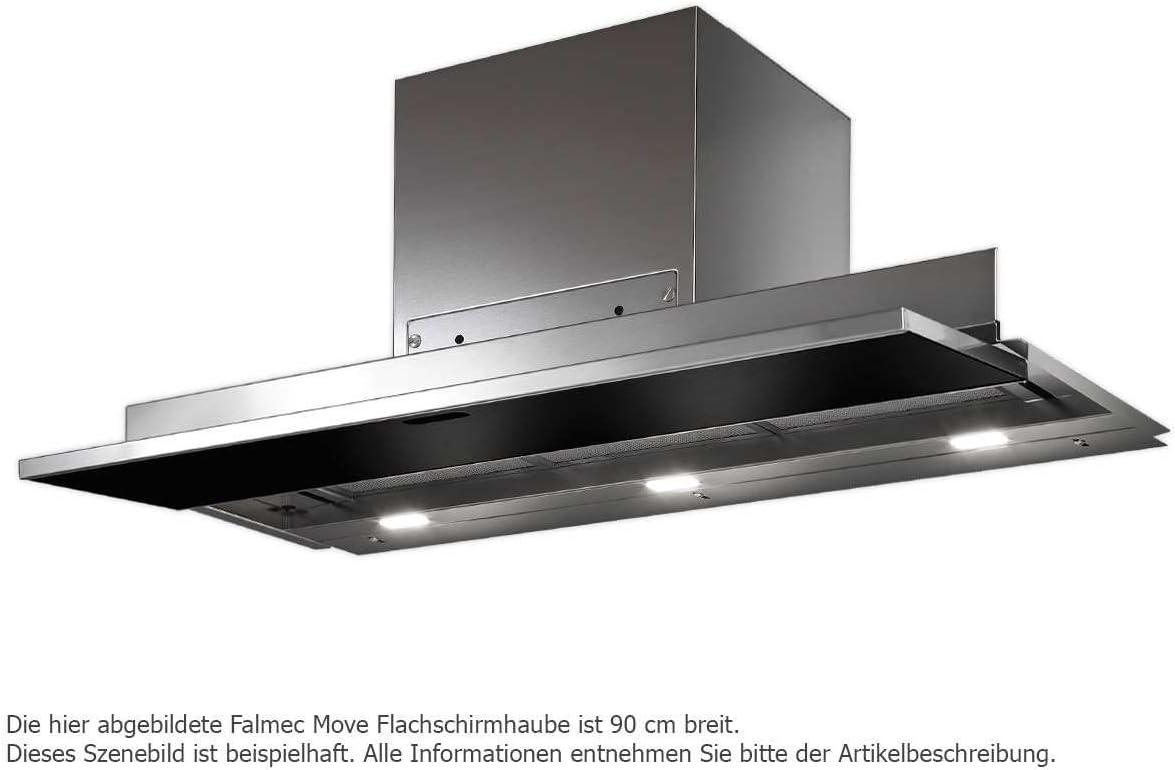 Falmec Move - Campana extractora (90 cm), color negro: Amazon.es: Grandes electrodomésticos