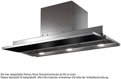 Falmec Campana Cocina Diseño Move integrado 120 cm cristal negro: Amazon.es: Hogar