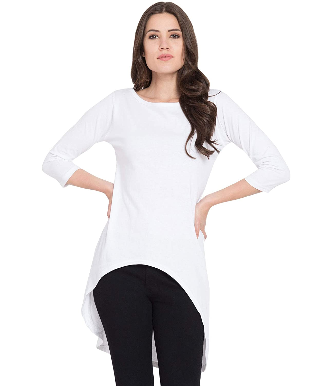 10793a44fc43 American-Elm Long Tshirt Dress for Women