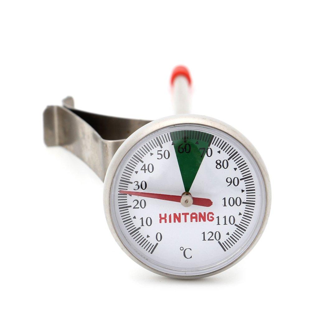 Cuigu Thermometer fü r Kü che, Portativ, aus Edelstahl