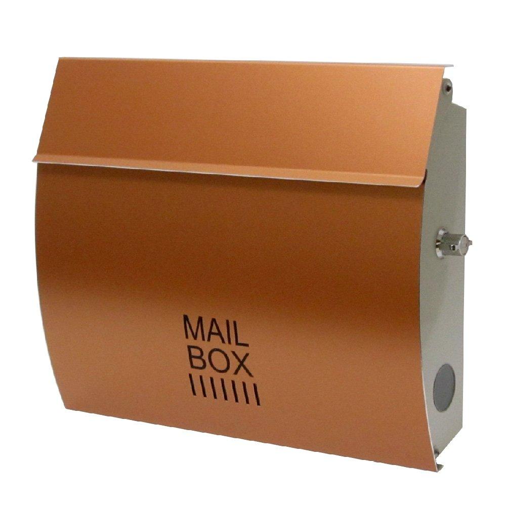 EUROデザイナーズポスト ユーロデザイナーズポスト MB4801 カッパー 郵便受け MB4801-KL-COPPER 010 奥行35×高さ29×幅8.5cm B00BIASPXU 18799 カッパー カッパー