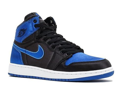 super popular 7db24 705f2 Nike AIR Jordan 1 Retro HI OG BG EP (GS)  Royal Satin