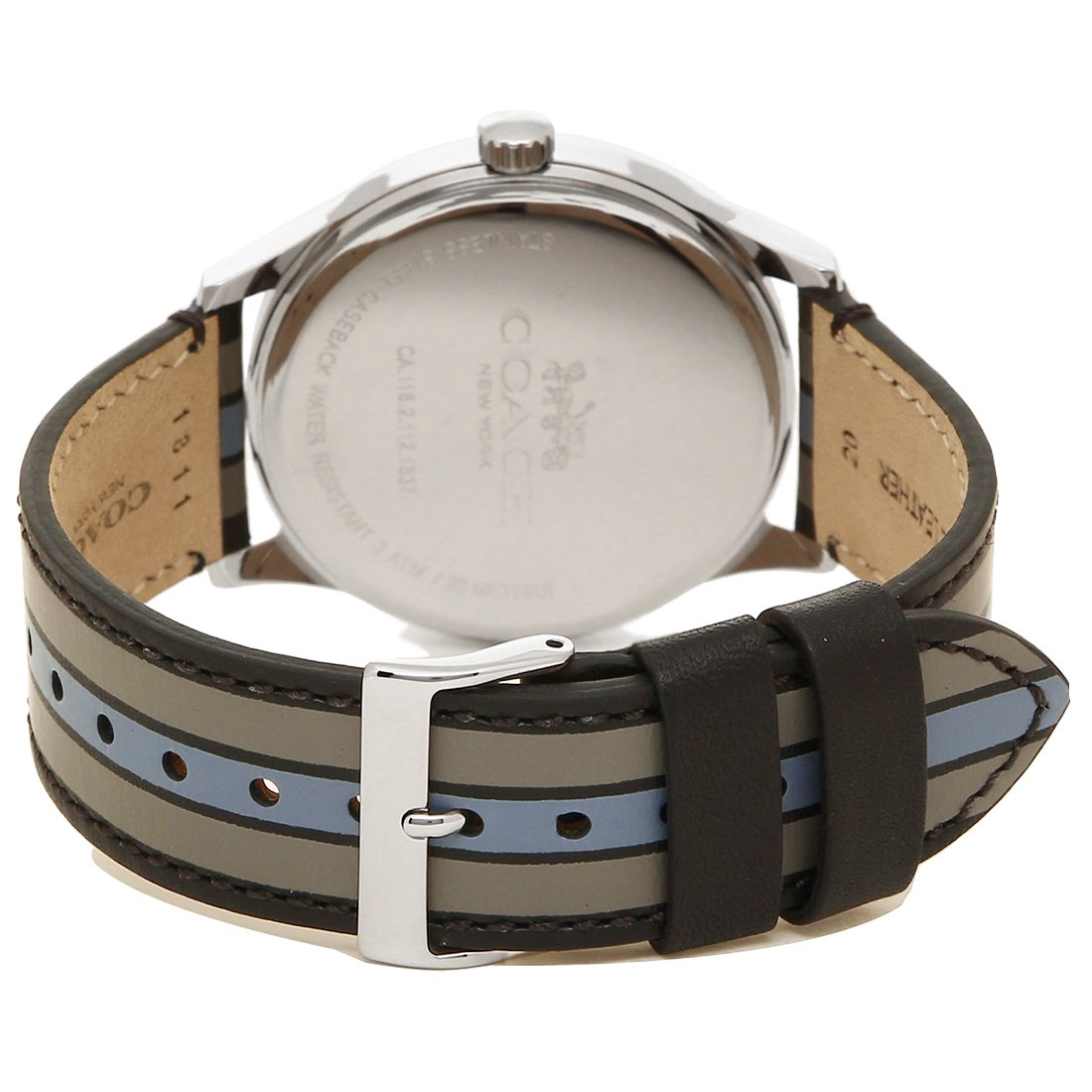461cac5c0336 Amazon | [コーチ] 腕時計 メンズ アウトレット COACH W1545 D9B シルバー ブラック グレー [並行輸入品] |  並行輸入品・逆輸入品・中古品(メンズ) | 腕時計 通販
