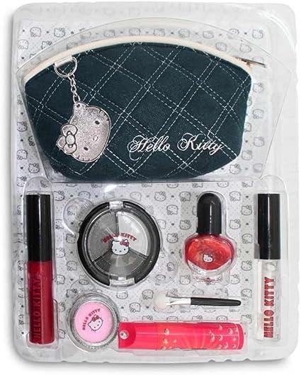 Sanrio Hello Kitty Makeup Set 9 Productos cosméticos HK.0226.11, 1er Pack (1 x 150 g): Amazon.es: Belleza