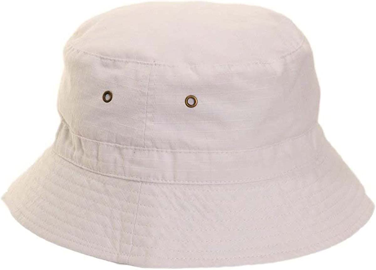 Earland Brothers Mens Ladies White or Beige 100/% Cotton Bucket//Bush Sun Hat Bowls Cricket Hat