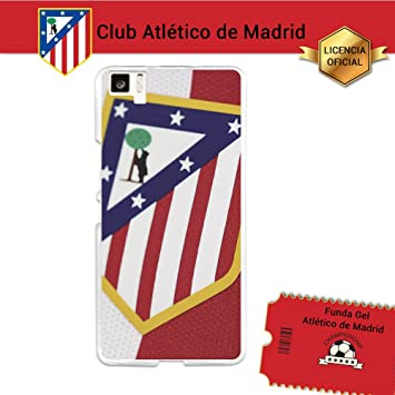 Funda Gel Flexible Atlético de Madrid para Bq Aquaris M5 ...