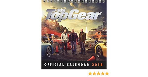 Top Gear Official Desk Easel 2018 Calendar - Month To View Desk Format: Amazon.es: TOP GEAR: Libros en idiomas extranjeros