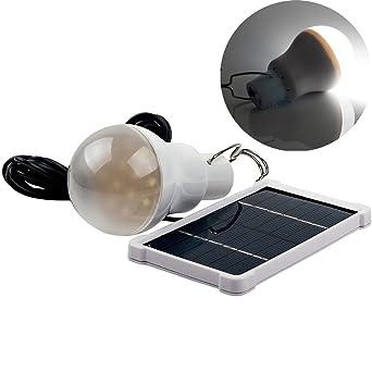 Portable de la energía solar LED del bulbo de la lámpara de iluminación al aire libre