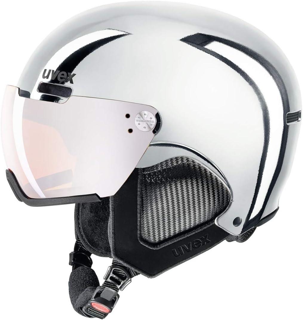 ウベックス カタログ外 限定 スキー バイザー ヘルメット UVEX hlmt 500 visor