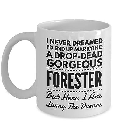 4c5c17a0ec47 Funny Mug for Forester Wife or Husband I Never Dreamed I'd End Up Marrying