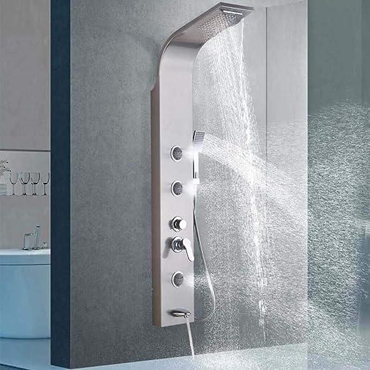 GHKUFH Sistema de ducha Columna del grifo de la ducha Cascada de ...