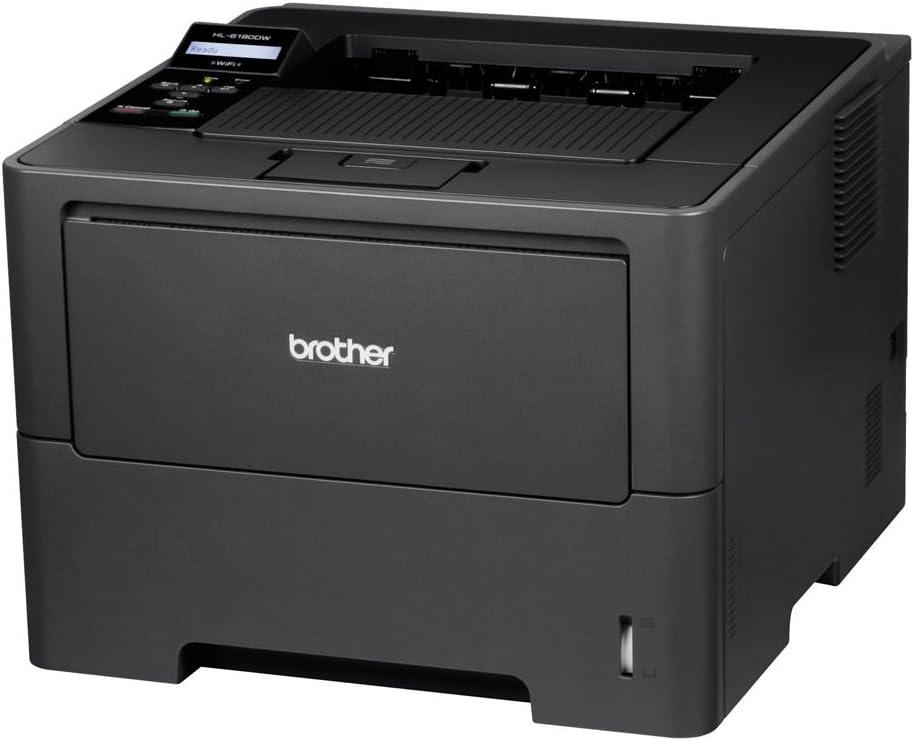 Brother HL-6180DW - Impresora láser Monocromo (con Red Cableada ...