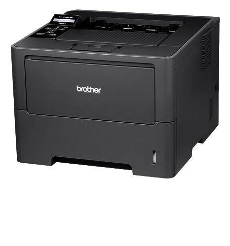 Brother HL-6180DW - Impresora láser Monocromo (con Red Cableada, WiFi e impresión Duplex automática)