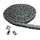 Roller Chain # 35 Carbon Steel Length 5 Feet with 1 Connecting Link Pitch 5/8 inch Black