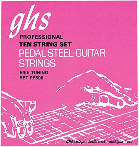 GHS Pedal Steel Guitar Semi-Flat E9th 13-36 PF500