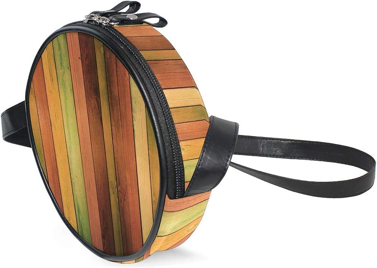 KEAKIA Guitar Instrument Music Round Crossbody Bag Shoulder Sling Bag Handbag Purse Satchel Shoulder Bag for Kids Women