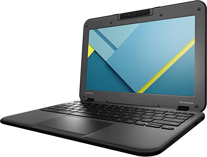 Lenovo N22 80SF0001US 11.6inch Chromebook Intel Celeron N3050 1.60 GHz, 4GB RAM, 16GB SSD Drive, Chrome OS (Renewed)
