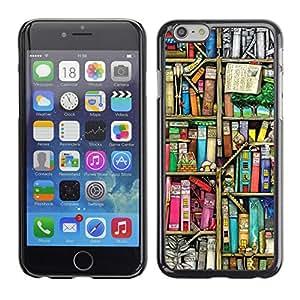 PC/Aluminum Funda Carcasa protectora para Apple Iphone 6 Plus 5.5 Reading Library Teach School / JUSTGO PHONE PROTECTOR